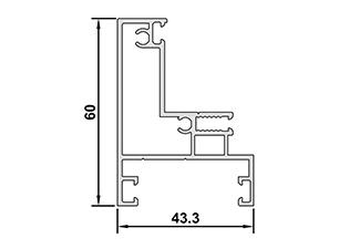 Interior Room Glass Door Profiles